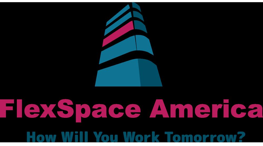 FlexSpace America Logo — How Will You Work Tomorrow?